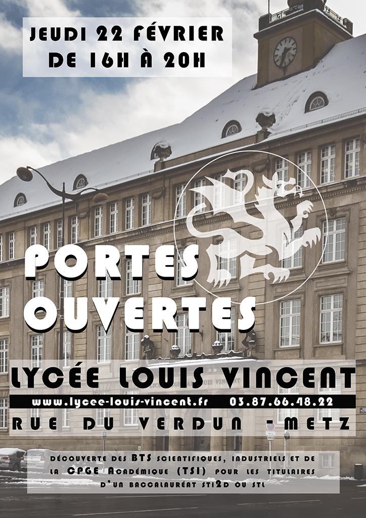 Actualit s lyc e louis vincent metz - Portes ouvertes lycee faidherbe lille ...